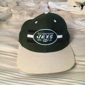 Flat brim New York Jets hat